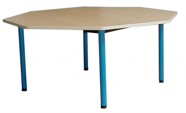 Table clara octogonale diam tre 120 cm artprog - Table de jardin octogonale ...
