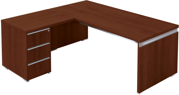 bureau direction 180 x 90 cm avec retour caisson porteur artprog. Black Bedroom Furniture Sets. Home Design Ideas