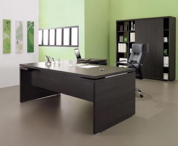 bureau kyo 200 x 190 cm pieds panneaux artprog. Black Bedroom Furniture Sets. Home Design Ideas